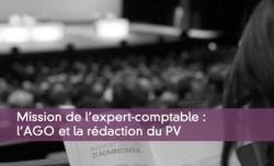Mission de l'expert-comptable : l'AGO et la rédaction du PV