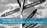 Corrigés du DCG : pour estimer ses chances et s'entraîner