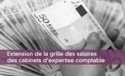 Extension de la grille des salaires des cabinets d'expertise comptable