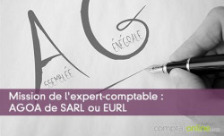 Mission de l'expert-comptable : AGOA de SARL ou EURL