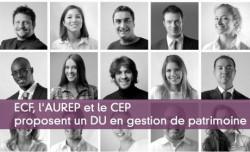 ECF, l'AUREP et le CEP proposent un DU en gestion de patrimoine