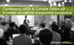 Conférence HAYS & Compta Online sur le métier en cabinet d'expertise comptable