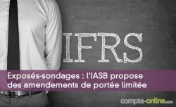 Exposés-sondages : l'IASB propose des amendements de portée limitée