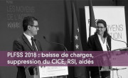 PLFSS 2018 : baisse de charges, suppression du CICE, RSI, aides