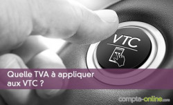 TVA à appliquer aux VTC