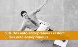 30% des auto-entrepreneurs restent auto-entrepreneurs