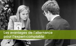 Les avantages de l'alternance pour l'expert-comptable