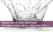 Baisse des charges patronales et augmentation de la « réduction Fillon »
