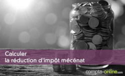 Calculer la réduction d'impôt mécénat