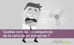 Quelles sont les conséquences de la canicule en entreprise ?