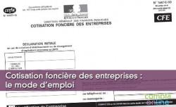 Cotisation foncière des entreprises : le mode d'emploi