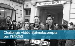 Challenge vidéo #jaimelacompta par l'ENOES