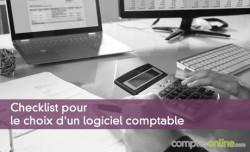 Checklist pour le choix d'un logiciel comptable
