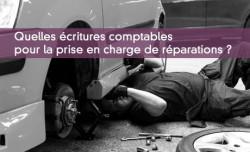 Comptabiliser assurance et réparations