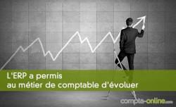 L'ERP a permis au métier de comptable d'évoluer