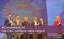 #ConventionCAC : Les commissaires aux comptes confiants dans l'avenir ?