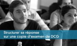 Structurer sa réponse sur une copie d'examen de DCG