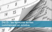 DSCG : les épreuves écrites commencent en octobre
