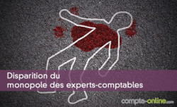 Disparition du monopole des experts-comptables