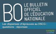 Les dispenses d'épreuves au DSCG : questions - réponses