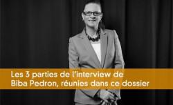 L'entrepreneure Biba Pédron