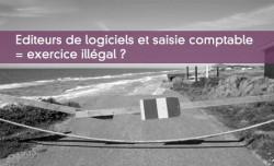 Editeurs de logiciels et saisie comptable  = exercice illégal ?