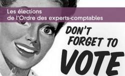 Les élections ordinales des experts-comptables