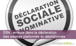 DSN : erreurs dans la déclaration des salaires plafonnés et déplafonnés