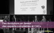 Des évolutions en faveur des experts-comptables et commissaires aux comptes