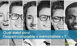 Quel statut pour l'expert-comptable « mémorialiste » ?