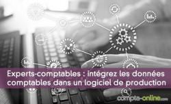 Experts-comptables : intégrez les données comptables dans un logiciel de production