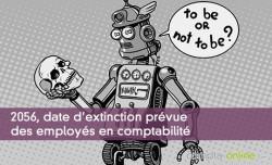 2056, date d'extinction prévue des employés en comptabilité
