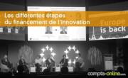 Les différentes étapes du financement de l'innovation