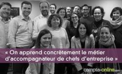 Parcours E-coll : « On apprend concrètement le métier d'accompagnateur de chefs d'entreprise »