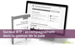 Secteur BTP : accompagnement dans la gestion de la paie