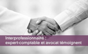 Interprofessionnalité : expert-comptable et avocat témoignent