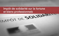 ISF et biens professionnels