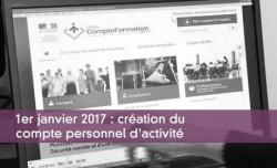 1er janvier 2017 : création du compte personnel d'activité