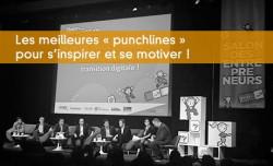Les meilleures « punchlines » pour s'inspirer et se motiver !