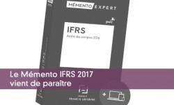Le Mémento IFRS 2017 vient de paraître