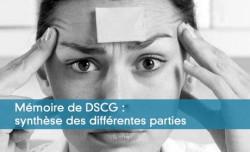 Mémoire de DSCG : synthèse des différentes parties