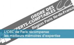 L'OEC de Paris récompense les meilleurs mémoires d'expertise