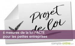 6 mesures de la loi PACTE pour les petites entreprises