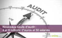 Nouveaux seuils d'audit : 4 et 8 millions d'euros et 50 salariés