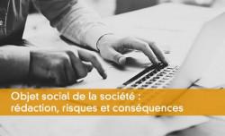 Objet social de la société