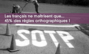 Les français et l'orthographe