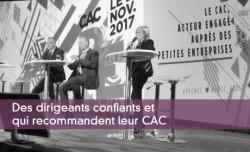 Des dirigeants confiants et qui recommandent leur CAC