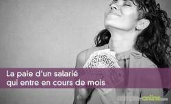 La paie d'un salarié qui entre en cours de mois