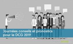 Journées conseils et pronostics pour le DCG 2019
