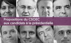 Propositions du CSOEC aux candidats à la présidentielle